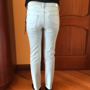 Hudson Midrise Tally Skinny Crop Jeans Size 28✨